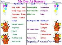 150 daycare forms childcare forms preschool forms parents daily preschool report daycare form altavistaventures Gallery